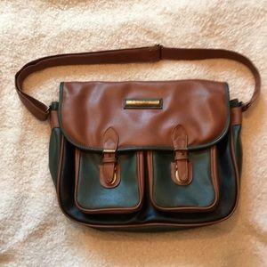 CAPEZIO Vintage Satchel/ Messenger bag